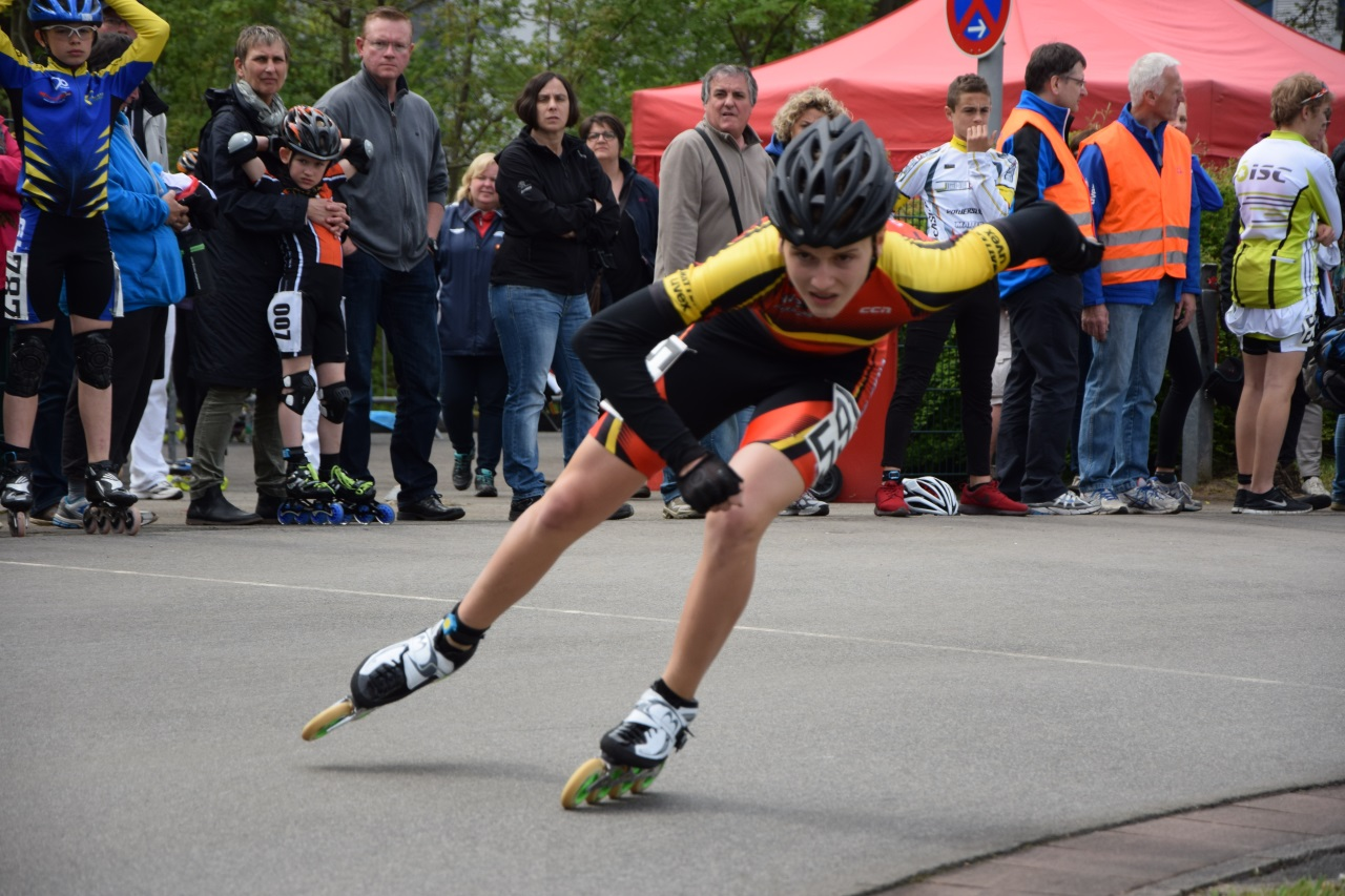 Luca Berti Im Speed in die Kurve