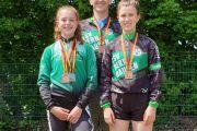 Vier Medaillen bei den Deutschen Meisterschaften